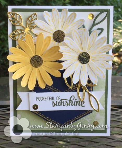 Stampin Up Pockeful of Sunshine and Daisy Delight