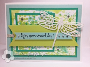 Stampin up Dragonfly Dreams card