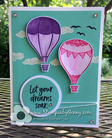 Above the Clouds Graduation card