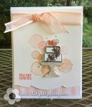 Stampin Up Piece of Cake WeddingCard