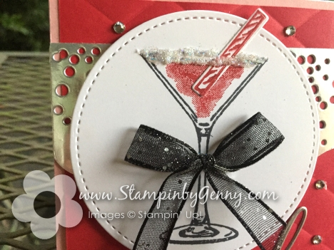 Stampin Up Cheers to That and Sip Sip Hooray bithday bundle card