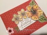 Stampin Up Timeless Tropical Birthday card
