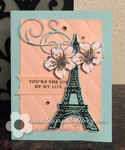 Stampin Up Parisian Beauty