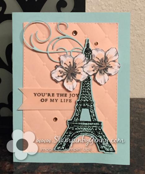 Stampin Up Parisian Beauty