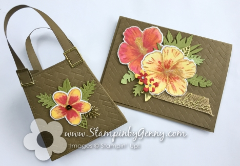 Timeless Tropical Bundle bag with Aloha card