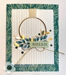 Stampin Up card created with Forever Greenerysuite